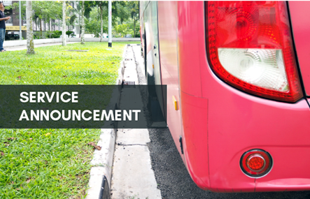 10 Premium Bus Services to resume from 1 July 2020