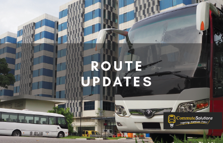 Premium Bus Services Update as at 07 Aug 2020