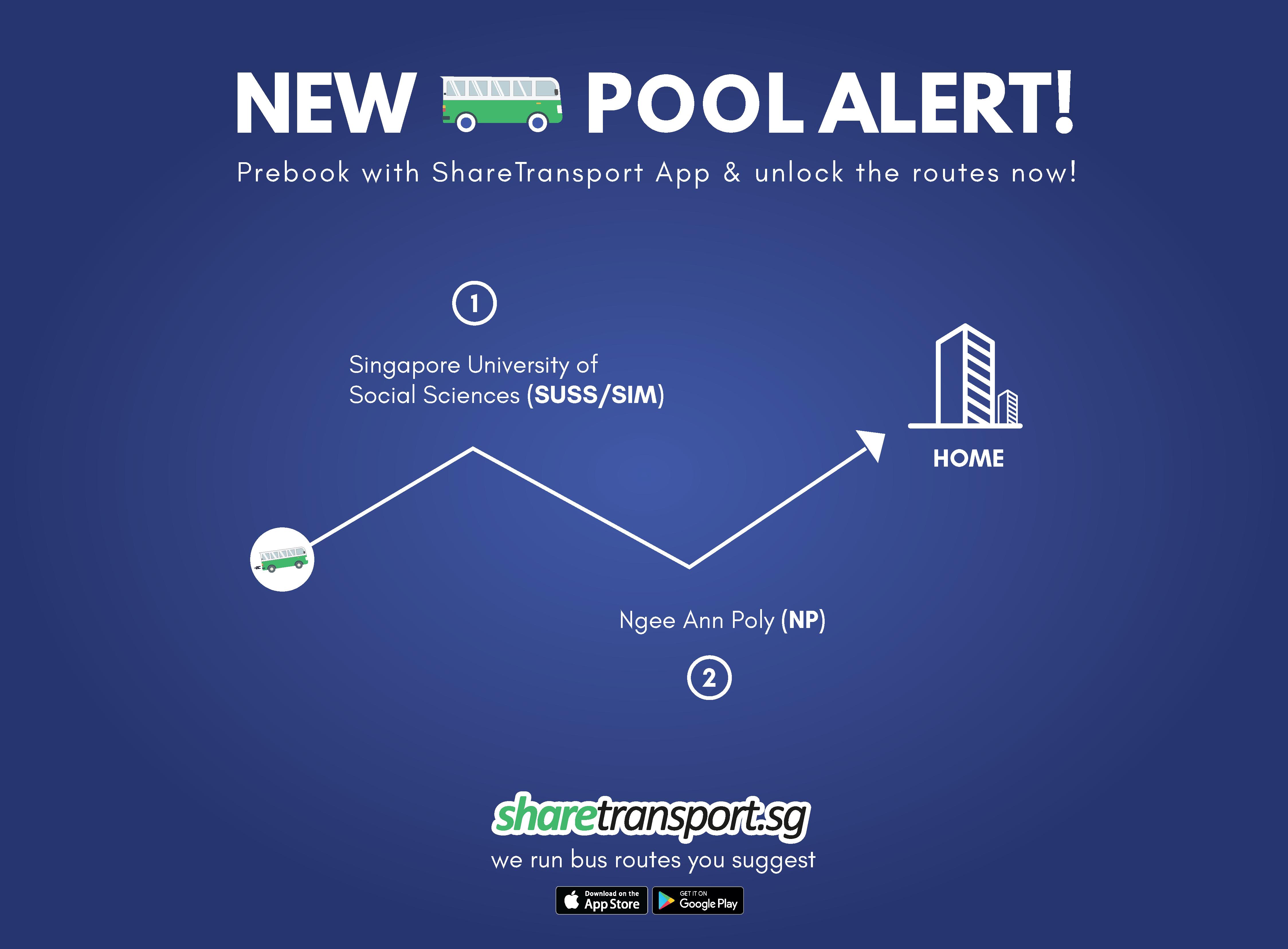 New Pool Alert