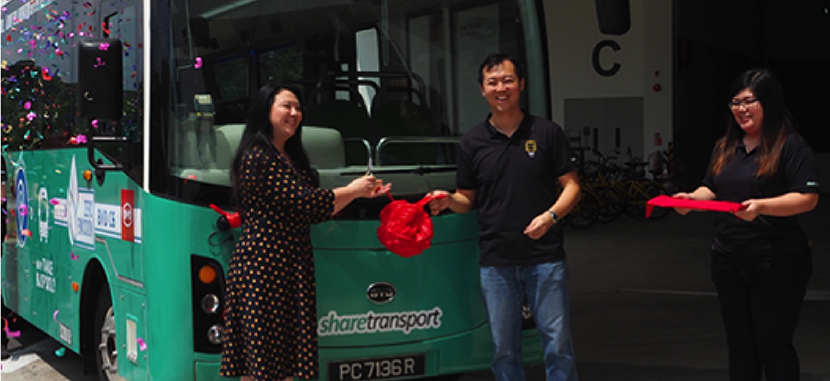 Introducing Singapore's First Full Electric 24 Seater bus