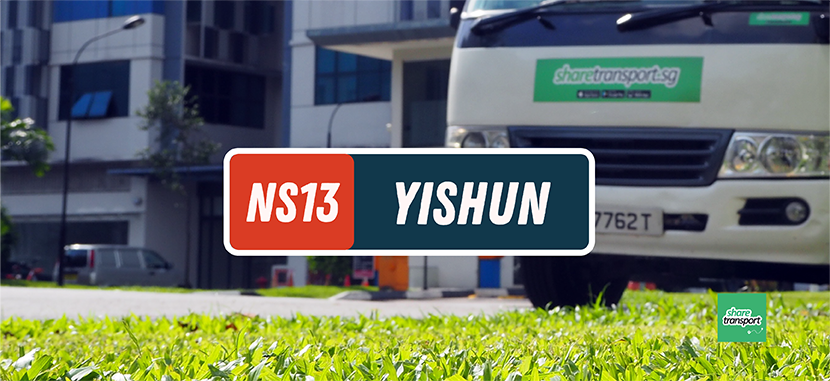 SHARETRANSPORT YM1 | YISHUN AVE 11 TO MAPLETREE BIZ CITY/JLN BT MERAH
