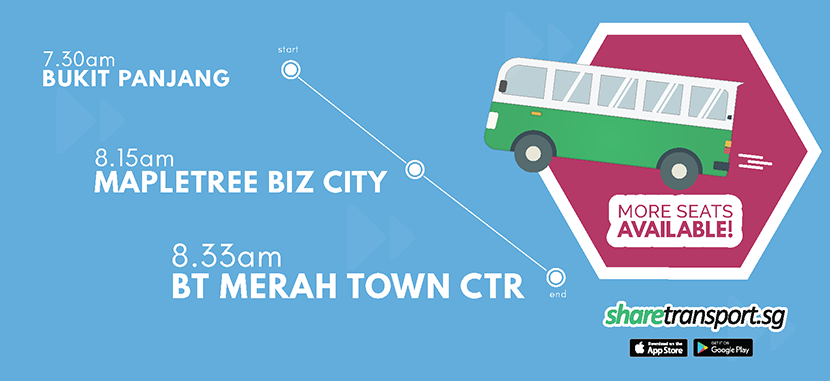 More Seats are Now available on BM1 bus route!