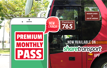 Premium Bus Commuters, you can now get a monthly pass and save more on your monthly travelling expenses!