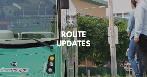 Updates on Route Information