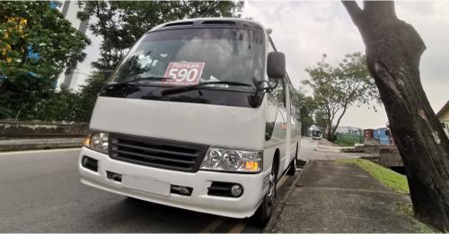 Premium Bus 590 from Choa Chu Kang to Orchard