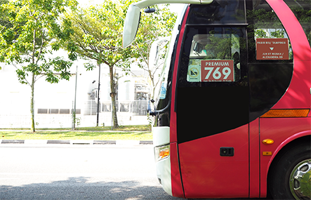 Direct Bus Alternatives for Premium 769 with ShareTransport