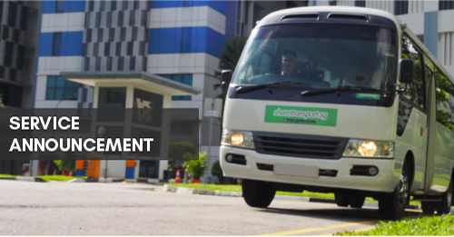 ShareTransport Bus Pool Services Update as at 14 Oct 2020