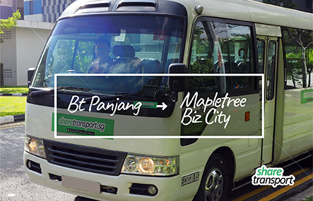 ShareTransport BM1 | Bukit Panjang to Mapletree Business City