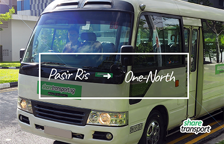 ShareTransport PSB2 | Pasir Ris Grove to Kent Ridge/Buona Vista