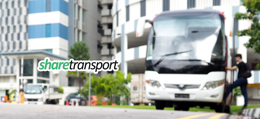 Your morning commute to work, solved with Sharetransport