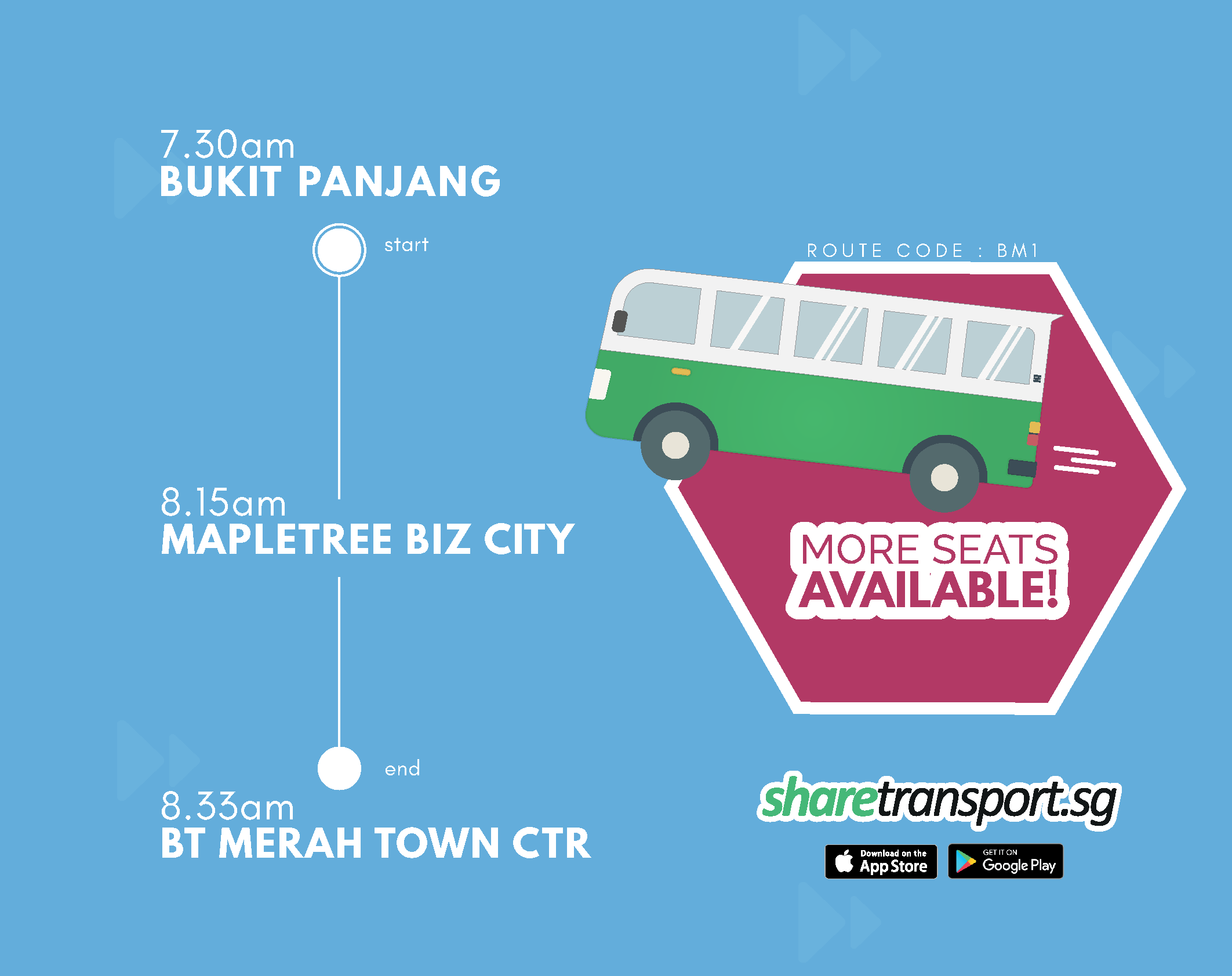 ShareTransport Route Update